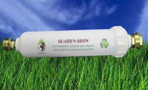 Organic Gardening water filter