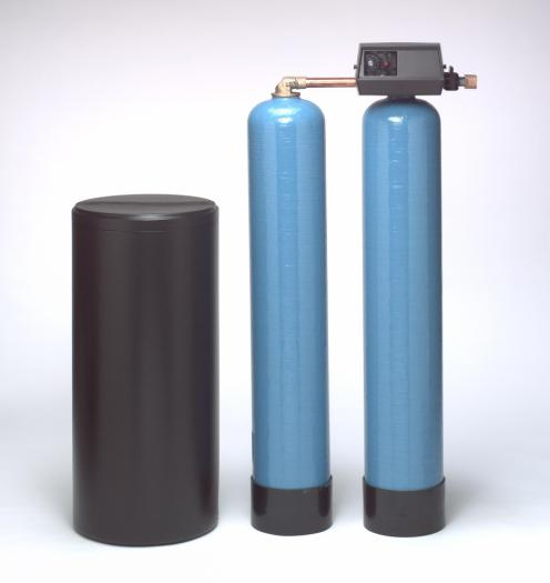 twin alternating water softeners and filtration systems
