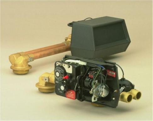 twin alternating water softener equipment