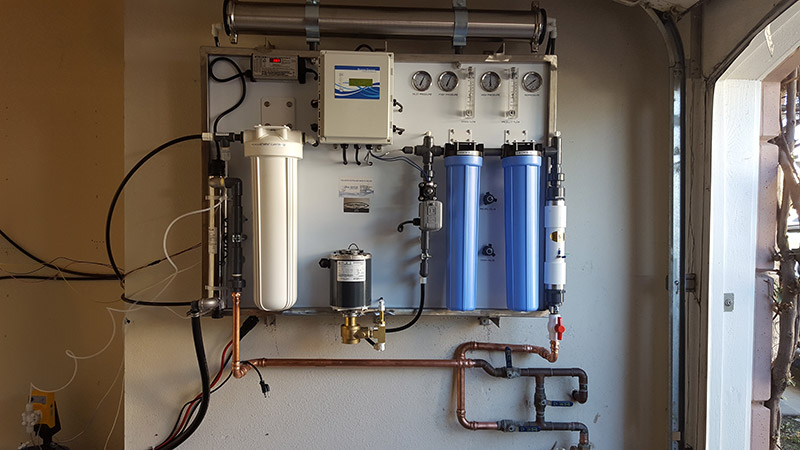Wall Mount Commercial Reverse Osmosis